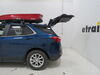 Inno Wedge Plus Rooftop Cargo Box - 13 cu ft - Gloss Red Long Length INBRM864RE on 2021 Chevrolet Equinox