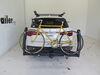"""Inno Tire Hold 2 Bike Platform Rack - 1-1/4"""" and 2"""" Hitches - Tilting Fold-Up Rack,Tilt-Away Rack INH120"""