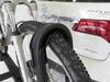 0  hitch bike racks inno platform rack fold-up tilt-away tire hold 2 - 1-1/4 inch and hitches tilting
