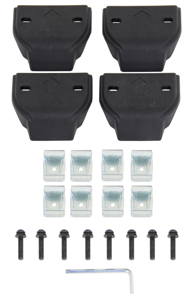 Custom Fit Kit for Inno XS300, XS350, XS400, XS450, INTR, and INXR Roof Rack Feet 4 Pack INTR132