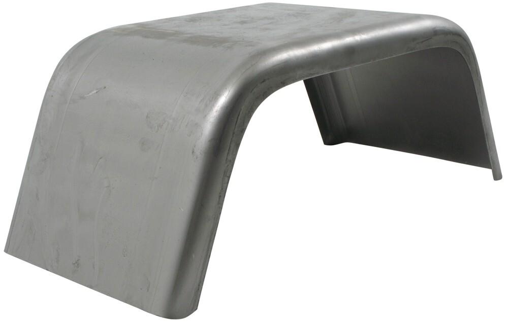 """Single Axle Trailer Fender - Jeep Style - 16 Gauge Steel - 10"""" Wheels - Qty 1 Weld-On J10821"""