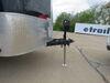 0  camper jacks stromberg carlson a-frame jack bolt-on electric trailer - drop leg 23 inch lift 5 000 lbs black