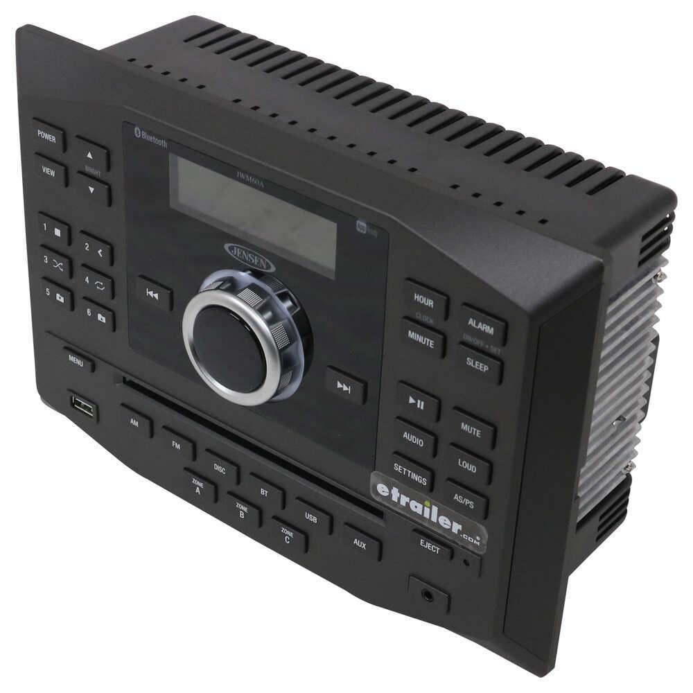 Jensen Bluetooth Compatible RV Stereos - JWM60A