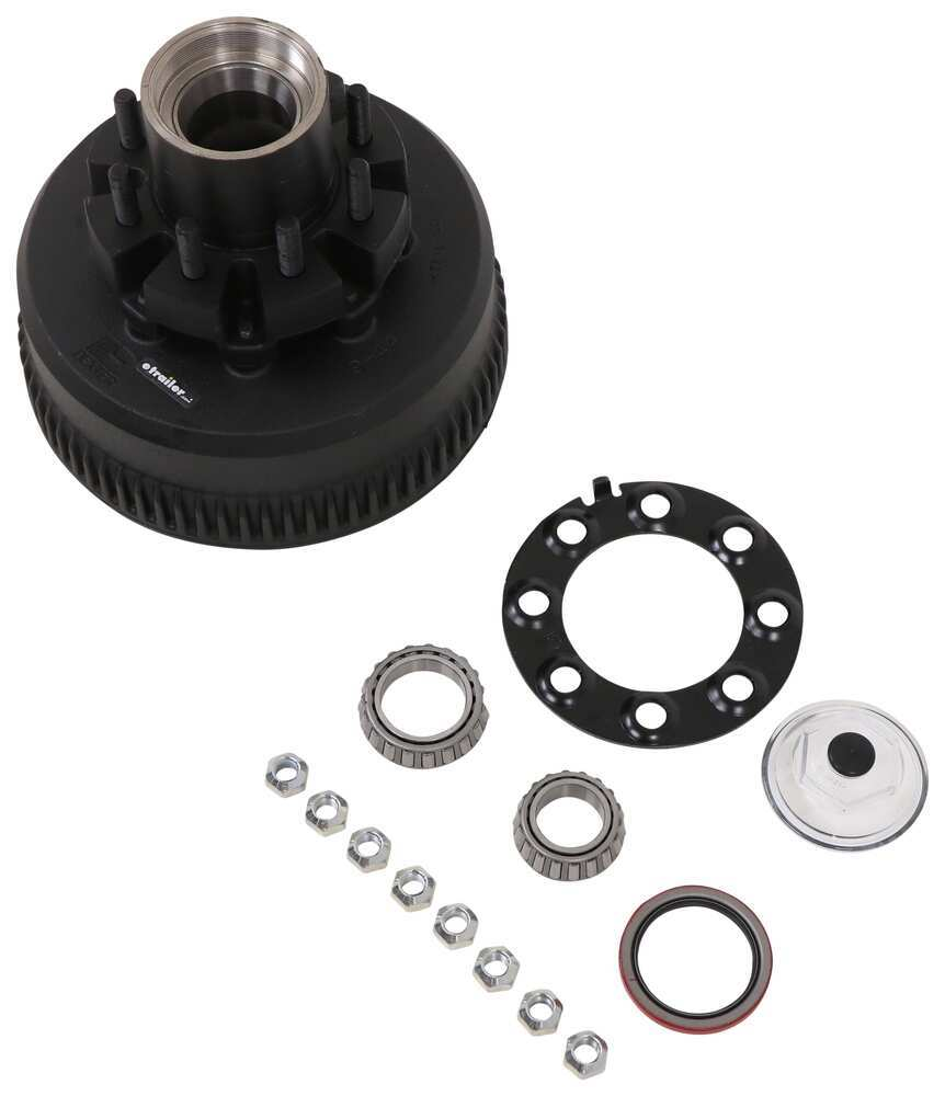 Trailer Hubs and Drums K08-288-90 - Oil Bath - Dexter Axle