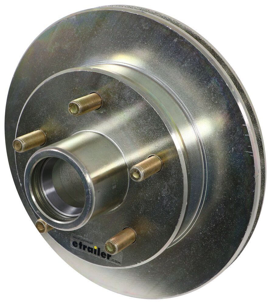 Trailer Hubs and Drums K08-435-05 - 5 on 4-1/2 Inch - Dexter Axle