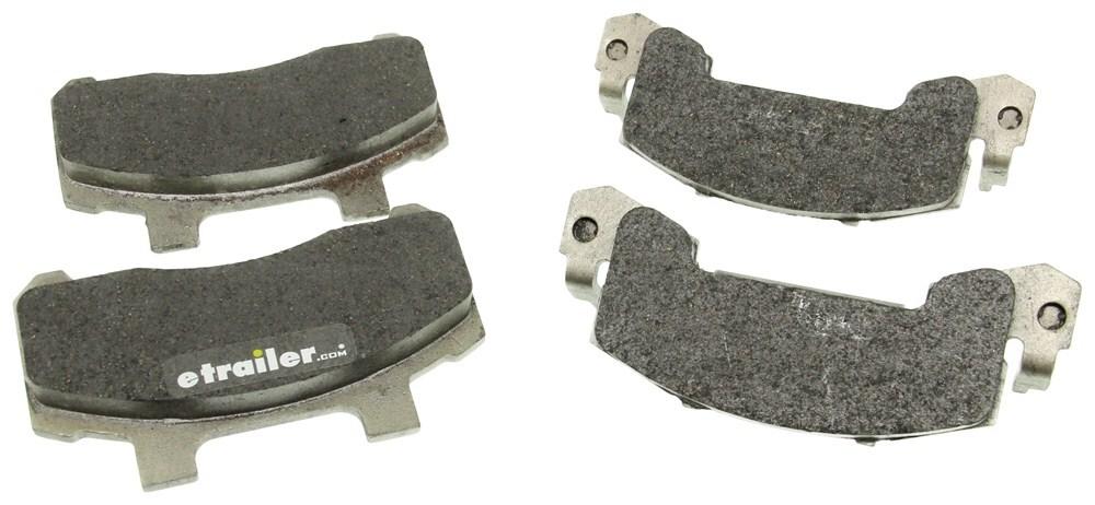 Kodiak Ceramic Brake Pads w/Stainless Steel Backing Plate - 3,500 lbs to 6,000 lbs Brake Pads K225CPSS