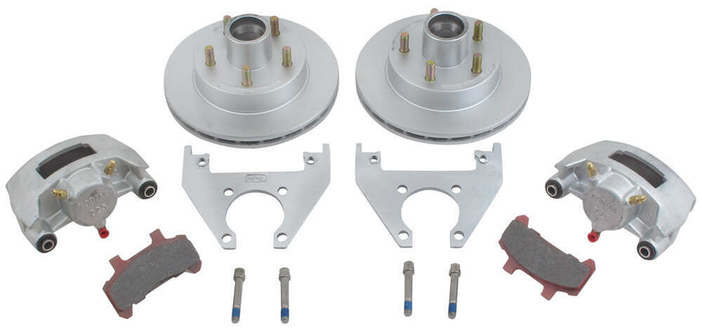 "Kodiak Disc Brake Kit - 10"" Hub/Rotor - 5 on 4-1/2 - Dacromet - 3,500 lbs 3500 lbs Axle K2HR35D"