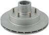 "Kodiak Disc Brake Kit - 12"" Hub/Rotor - 6 on 5-1/2 - Dacromet and Stainless - 6,000 lbs Brake Set K2HR526DS"