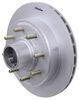 "Kodiak Disc Brake Kit - 13"" Hub/Rotor - 8 on 6-1/2 - Dacromet and Stainless - 7,000 lbs Hub and Rotor K2HR712DS"