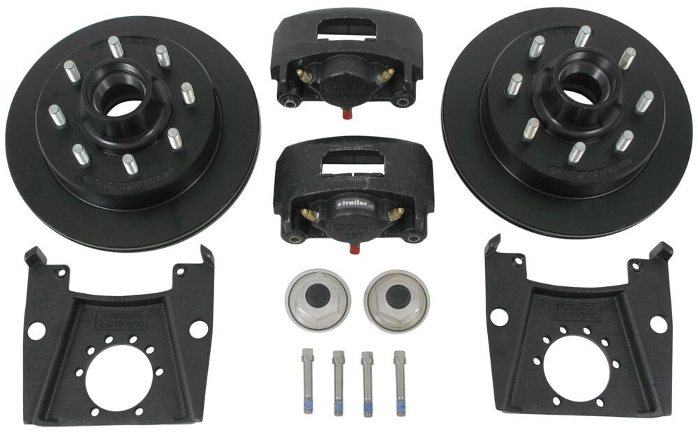 Kodiak Hub and Rotor Trailer Brakes - K2HR79E