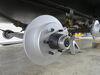 """Kodiak Disc Brake Kit - 12"""" Rotor - 6 on 5-1/2 - Dacromet - 5,200 lbs to 6,000 lbs 14-1/2 Inch Wheel,15 Inch Wheel,16 Inch Wheel K2R526D"""