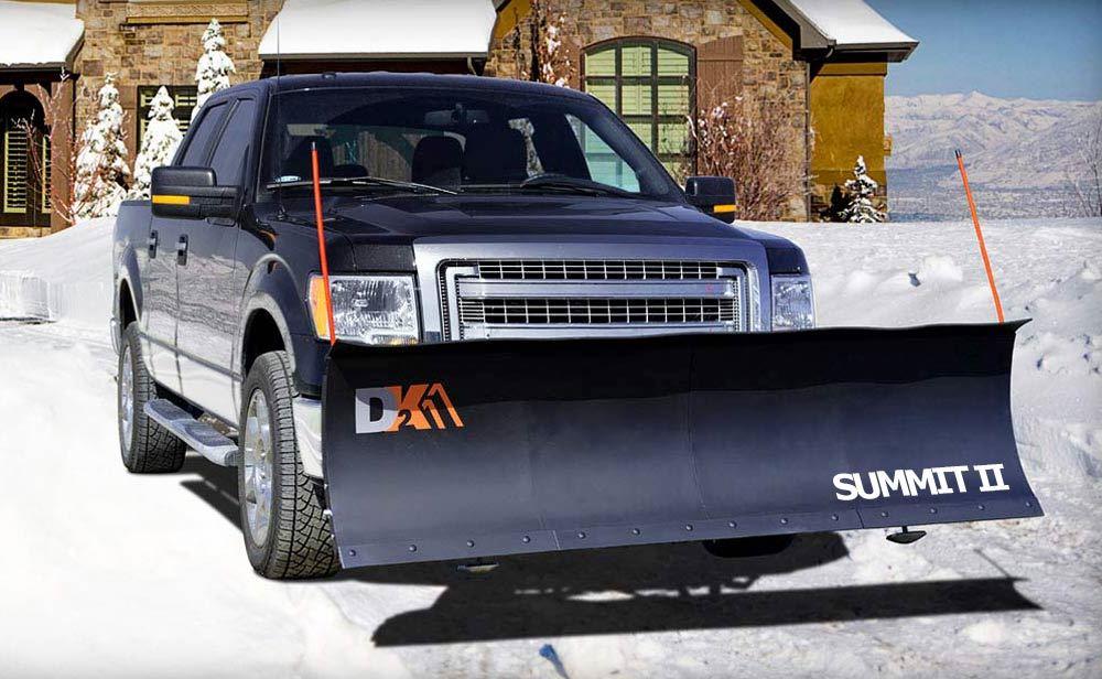 K2SUMM8826 - 88 Inch Wide Detail K2 Vehicle Snowplow