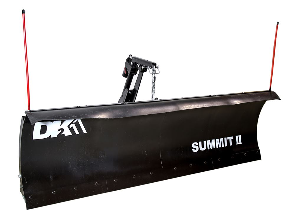 K2SUMM8826ELT - Steel Cutting Edge Detail K2 Snow Plow
