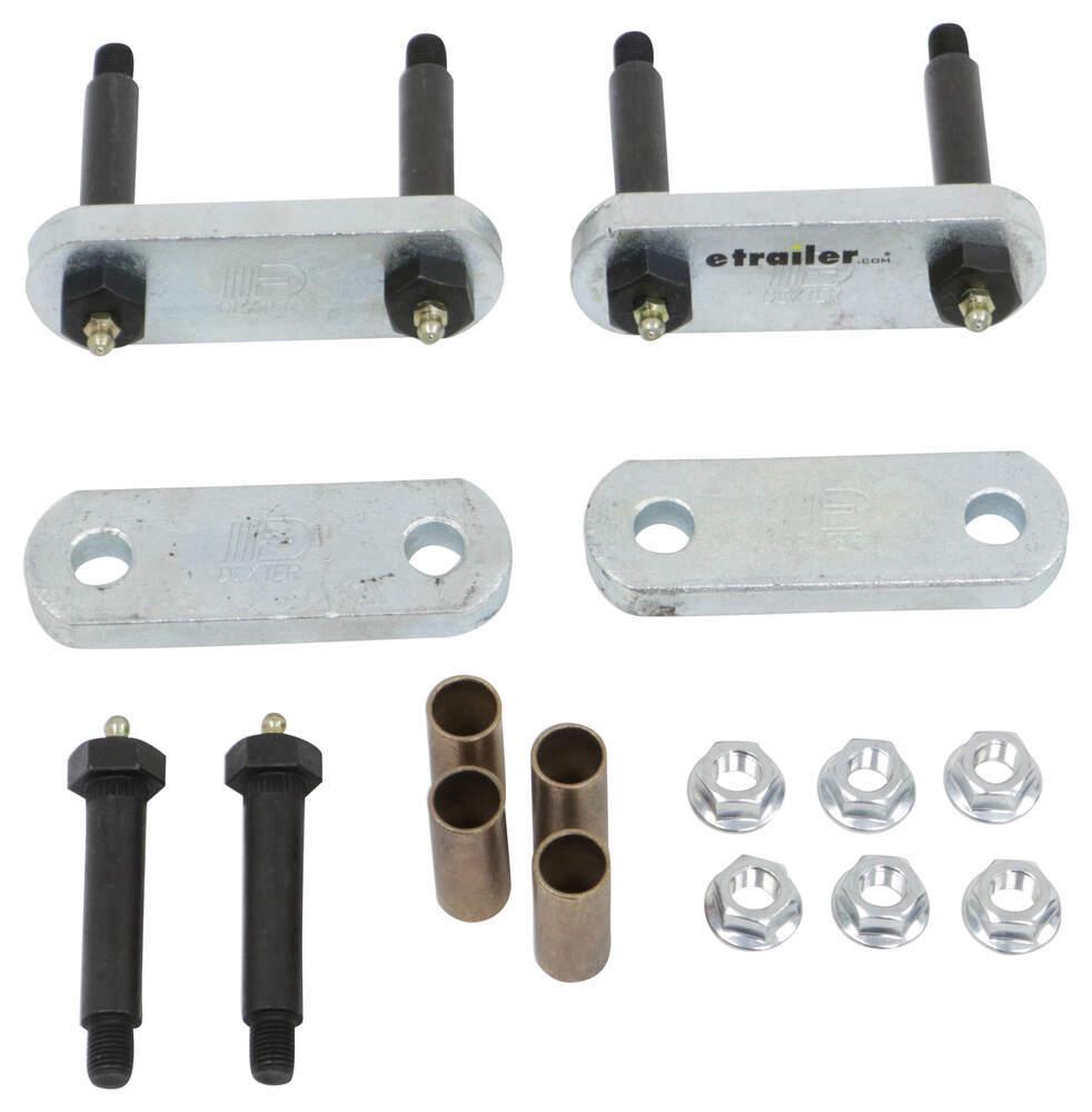 K71-358-00 - Single Axle Dexter Axle Spring Mounting Hardware