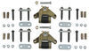 dexter axle trailer leaf spring suspension equalizers 5-5/8 inch long e-z flex kit - double-eye springs tandem 6 000 lbs