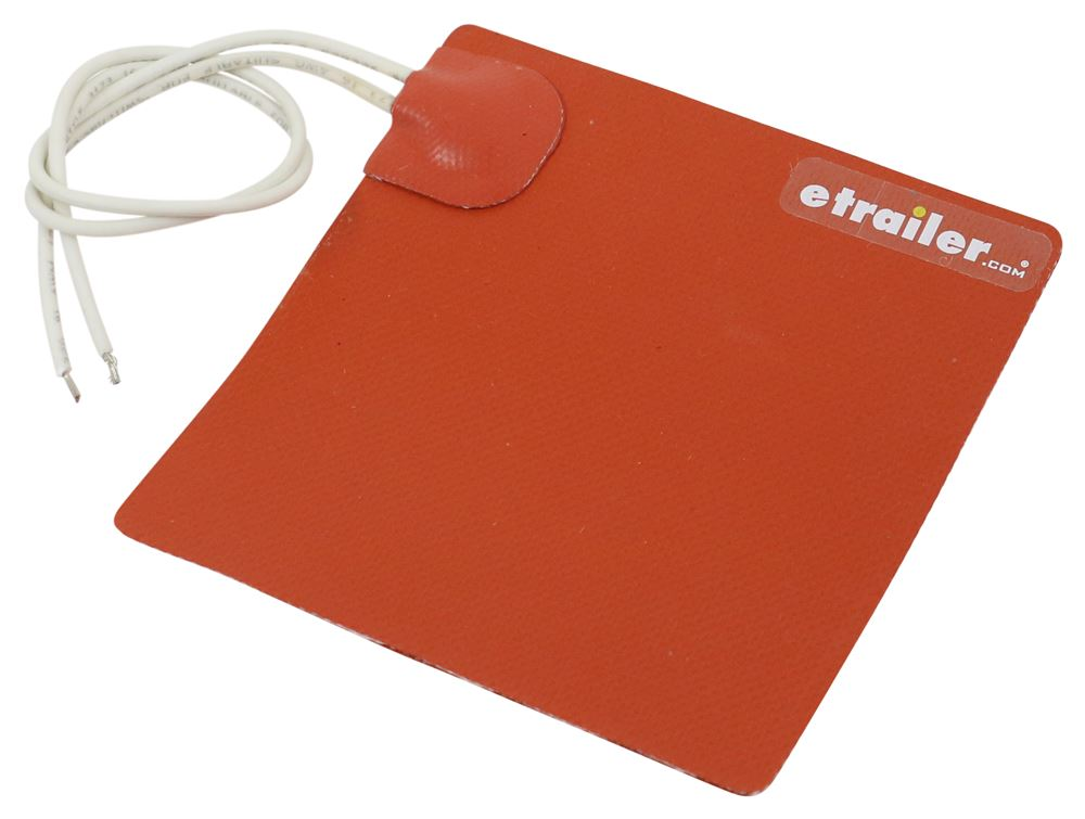 75 Watts 12 Volt Silicone Heat Pad Kats 23075 Silicone Heat Pad 5 in x 5 in