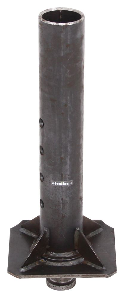 Ram Gooseneck to 5th Wheel Trailer Coupler Adapter - Round - 30K No Offset KPG5-R30IP