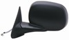 K-Source Replacement Side Mirror - Electric/Heated - Black - Driver Side Electric KS60064C