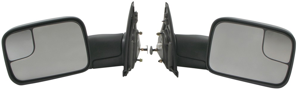 K-Source Custom Flip Out Towing Mirrors - Electric/Heat - Textured Black - Pair Heated KS60113-114C