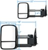 KS62073G - Black K Source Replacement Towing Mirror
