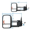 K Source Electric Replacement Mirrors - KS62076G