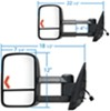 K Source Replacement Mirrors - KS62094G