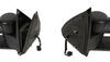 k source towing mirrors full replacement mirror electric k-source custom extendable - electric/heat textured black pair