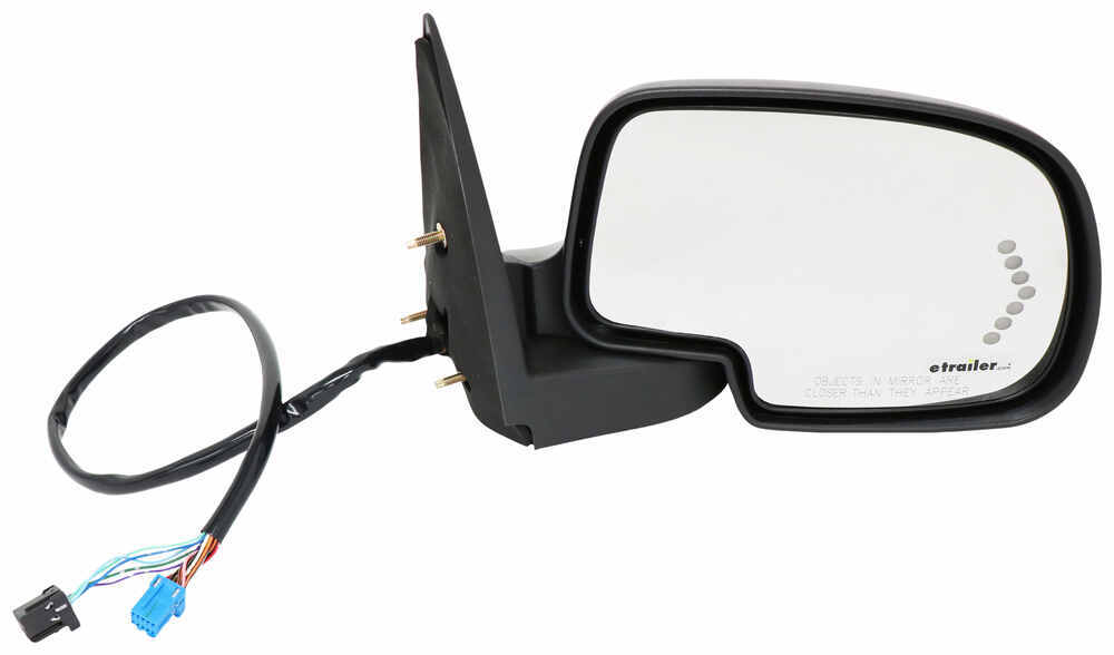 K-Source Replacement Side Mirror - Electric/Heat w Signal, Memory, Power Fold - Passenger Fits Passenger Side KS62163G