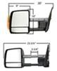 K Source Towing Mirrors - KS70103-04T