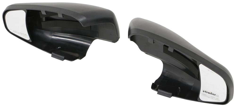 K-Source Snap & Zap Custom Towing Mirrors - Snap On - Driver and Passenger Side Manual KS80720