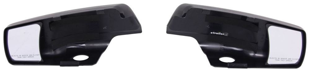K-Source Snap & Zap Custom Towing Mirrors - Snap On - Driver and Passenger Side Custom Fit KS80920