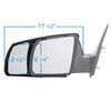 K Source Custom Fit Towing Mirrors - KS81300