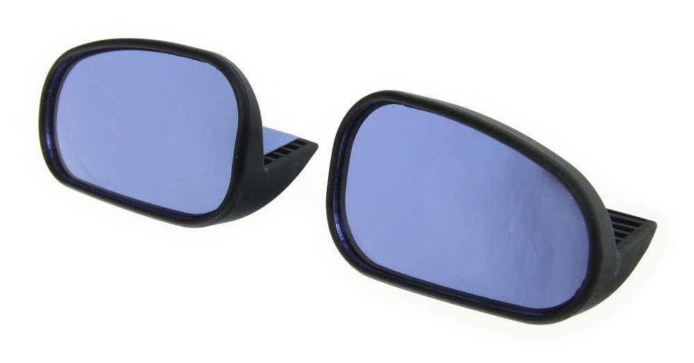 K-Source Custom Blind-Spot Mirrors w/ Optical Blue Lenses - Driver and Passenger Side Custom Fit KSCW1100
