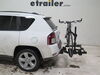 2014 jeep compass hitch bike racks kuat tilt-away rack 2 bikes ku84fr