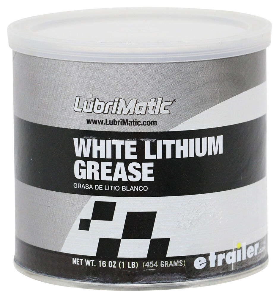 LubriMatic White Lithium Grease - 16 oz. Can White Lithium Grease L11350