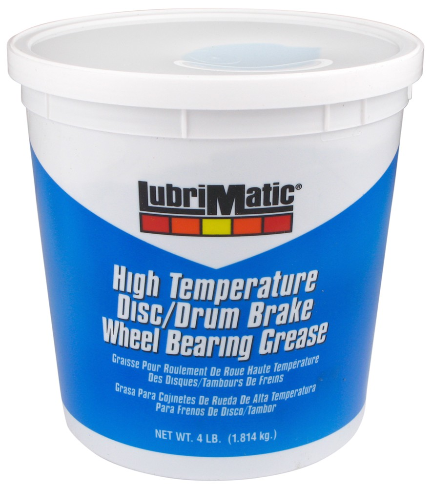 LubriMatic Disc/Drum Brake and Wheel Bearing Grease - 4-lb Tub with Handle 68 oz L11382