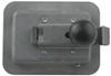 """Junior"" Locking Steel Flush Door Latch with Inside Release Steel L1930"
