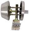 """Valterra Deadbolt Lock for RVs - Single Cylinder - Stainless Steel - 5/8"""" Throw Entry Door L32CS3008"""