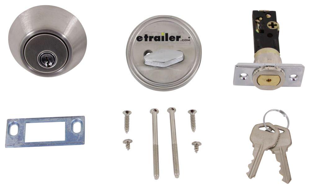 Valterra 2 Keys RV Locks - L32CS3008