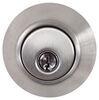 """Valterra Deadbolt Lock for RVs - Single Cylinder - Stainless Steel - 5/8"""" Throw 2 Keys L32CS3008"""
