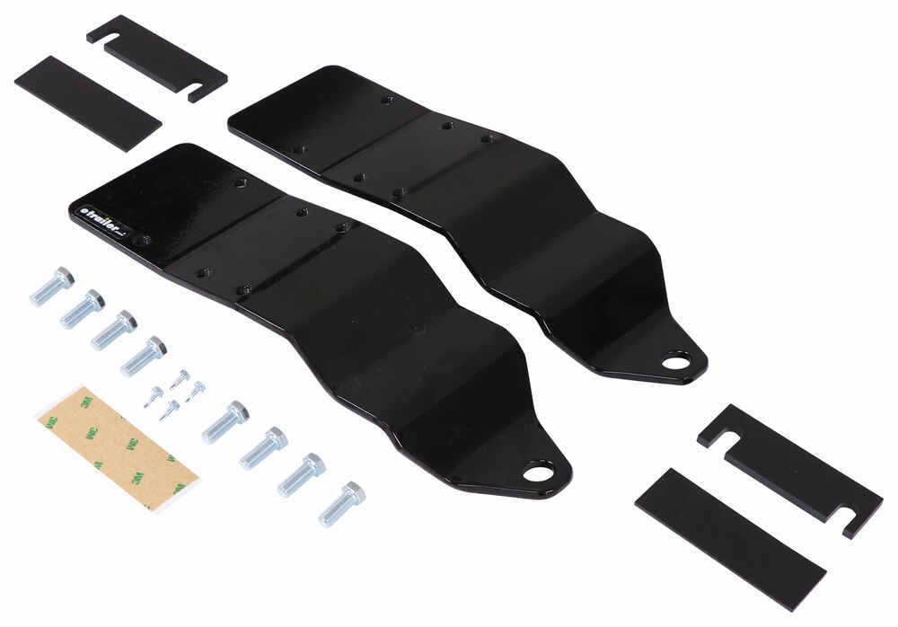 Replacement Front Anchor Plates for HappiJac Truck-Mounted Camper Tie-Downs - Qty 2 Hardware LC182871