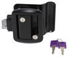 Global Link RV Entry Door Locking Latch Kit with Keyed Alike Option - Black 295-000019