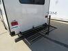 0  rv cargo lippert bike racks tailgate storage system in use