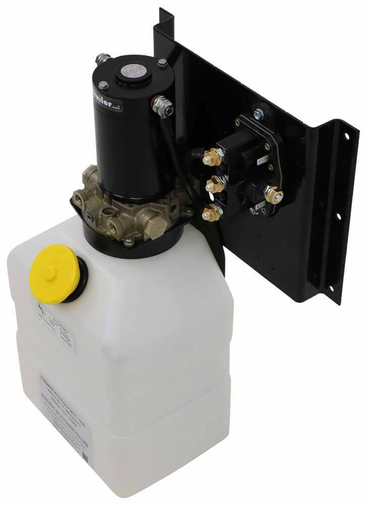 Replacement 7 Quart Vertical Pump Assembly for Lippert Components Hydraulic Leveling System Pump Assembly LC251910