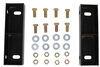 lippert accessories and parts trailer axles axle riser kit - single diamond torsion 3-1/2 inch lift
