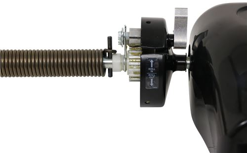 Lippert Components 272067 Solera Black Manual Pull Style Awning Drive Head Assembly