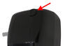 "Solera Grommet, Diaphragm, 0.75 ID"" x 1"" OD, Black, For Manual Override Hole Grommet Diaphragms LC275071"