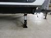 2011 forest river surveyor travel trailer camper jacks lippert stabilizer jack bolt-on in use