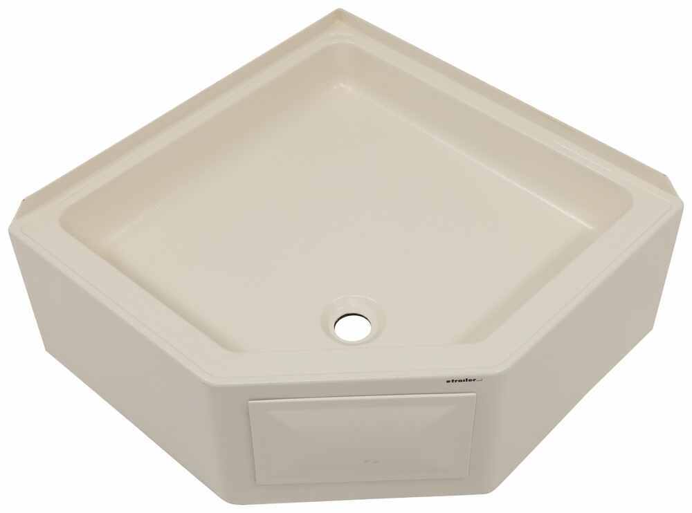 RV Showers and Tubs LC298087 - Front Drain - Lippert Components