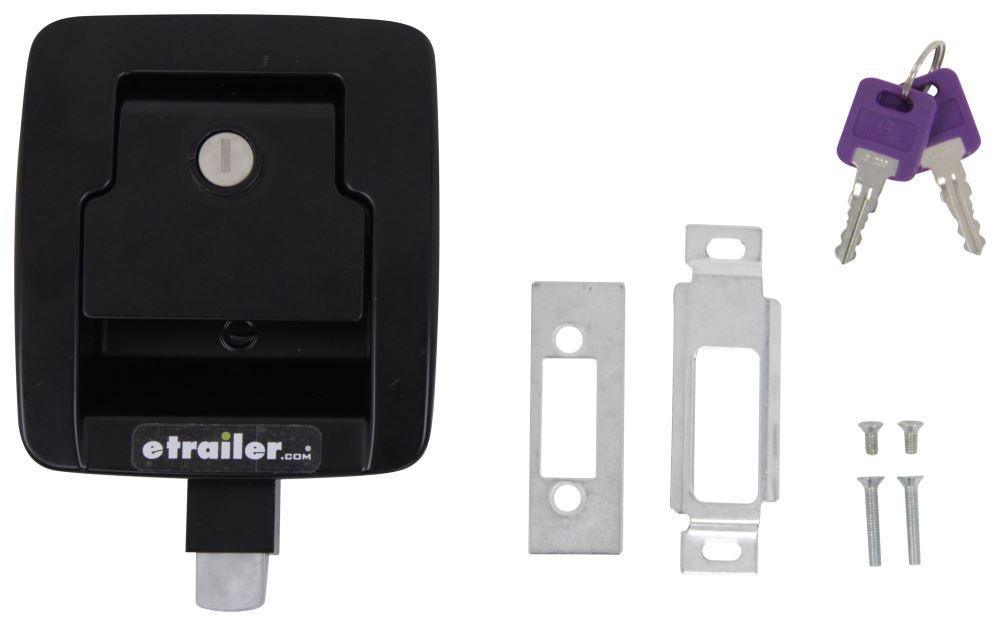 LC317649 - Black Lippert RV Door Parts